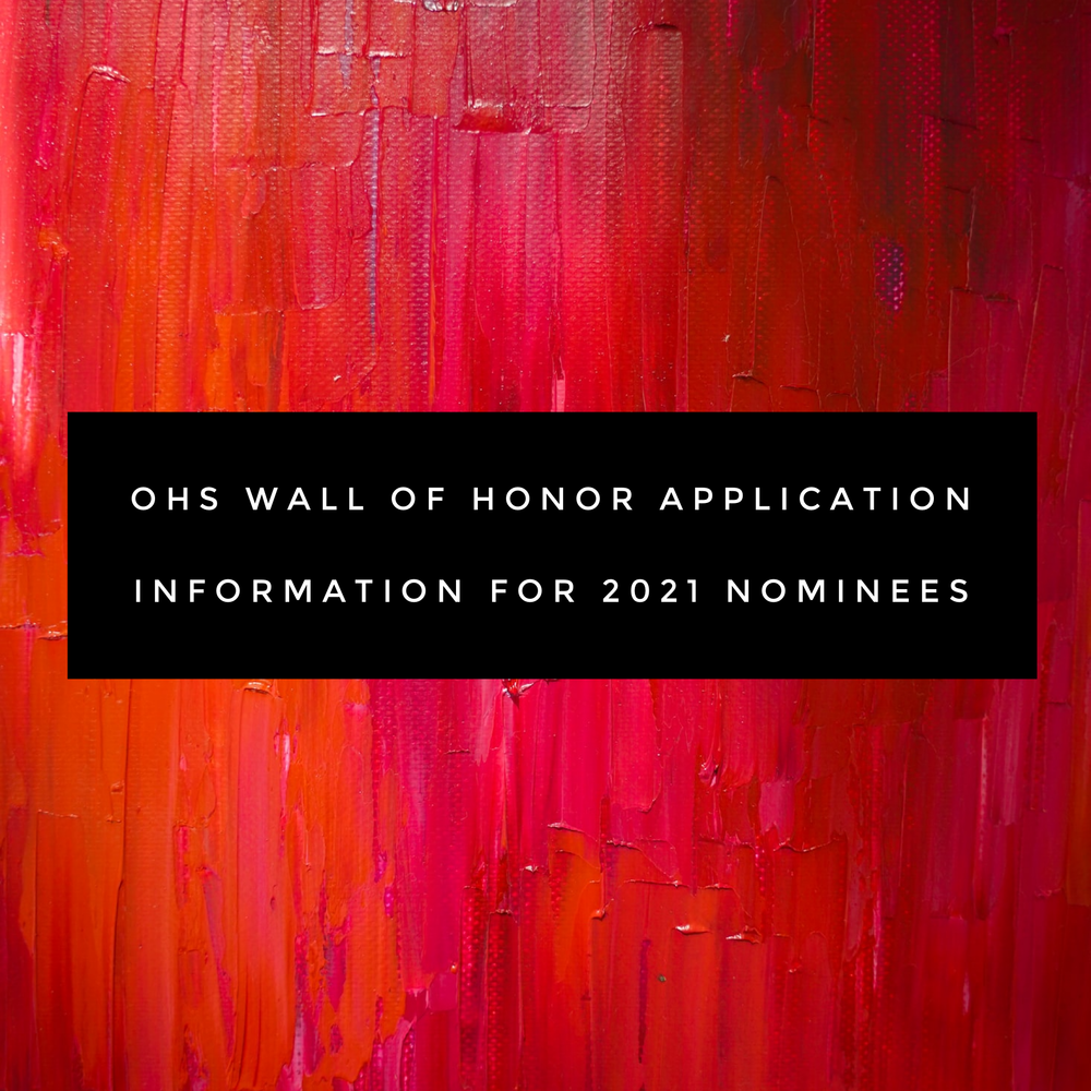 Ottawa High School Wall of Honor Applications for 2021