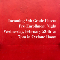 Incoming 9th Grade Parent Meeting