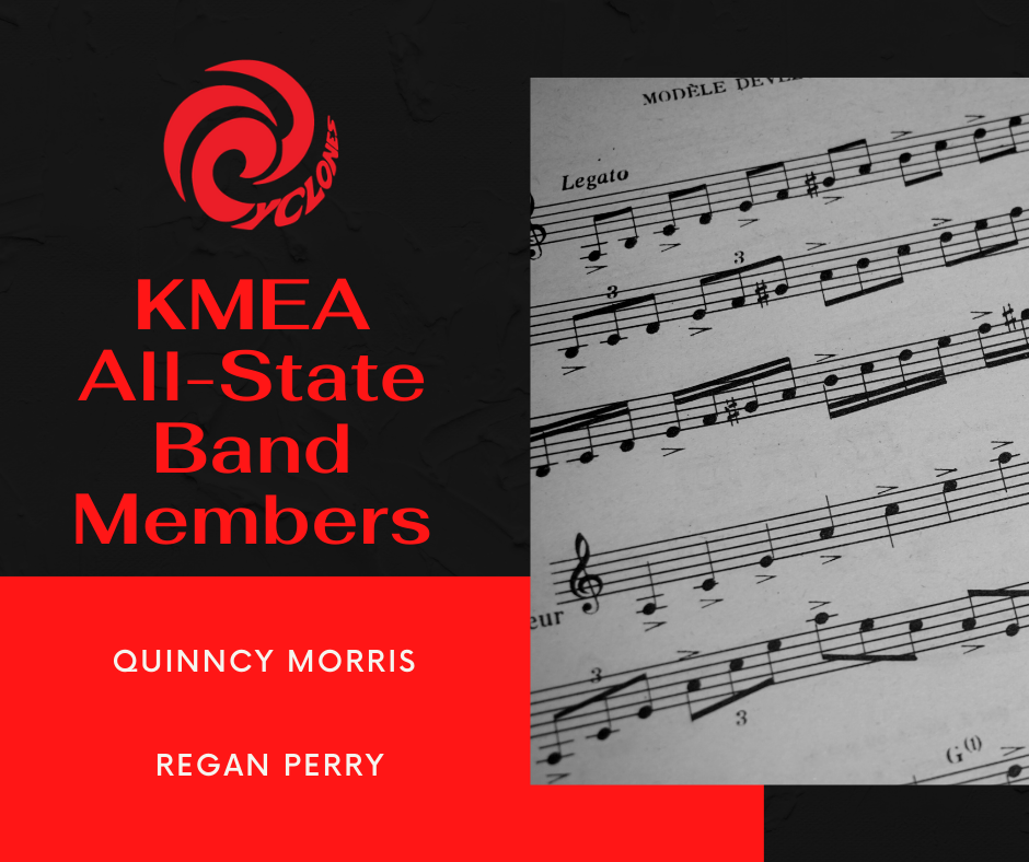 KMEA All State Band Announcement