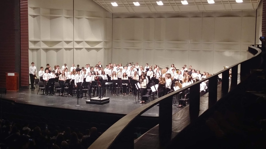 Entire Honors Band.
