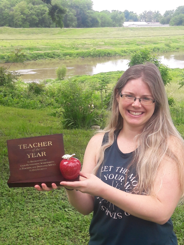 Megan O'Neill Teacher of the Year