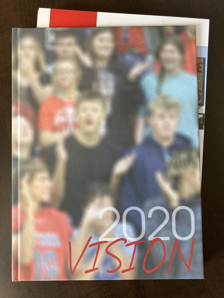 Cover image of the OHS 2020 yearbook