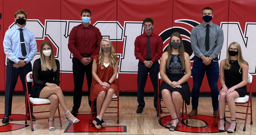 Homecoming Candidates - Masks